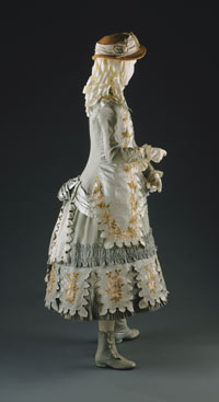 Image 02: Girl's Dress: Bodice and Skirt