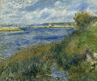 The Seine at Champrosay