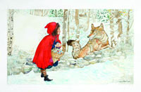 Image 05: Little Red Riding Hood Met a Sly Wolf