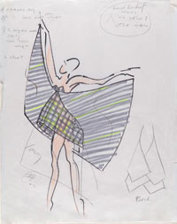 Image 05: Sketch for Dance Costume