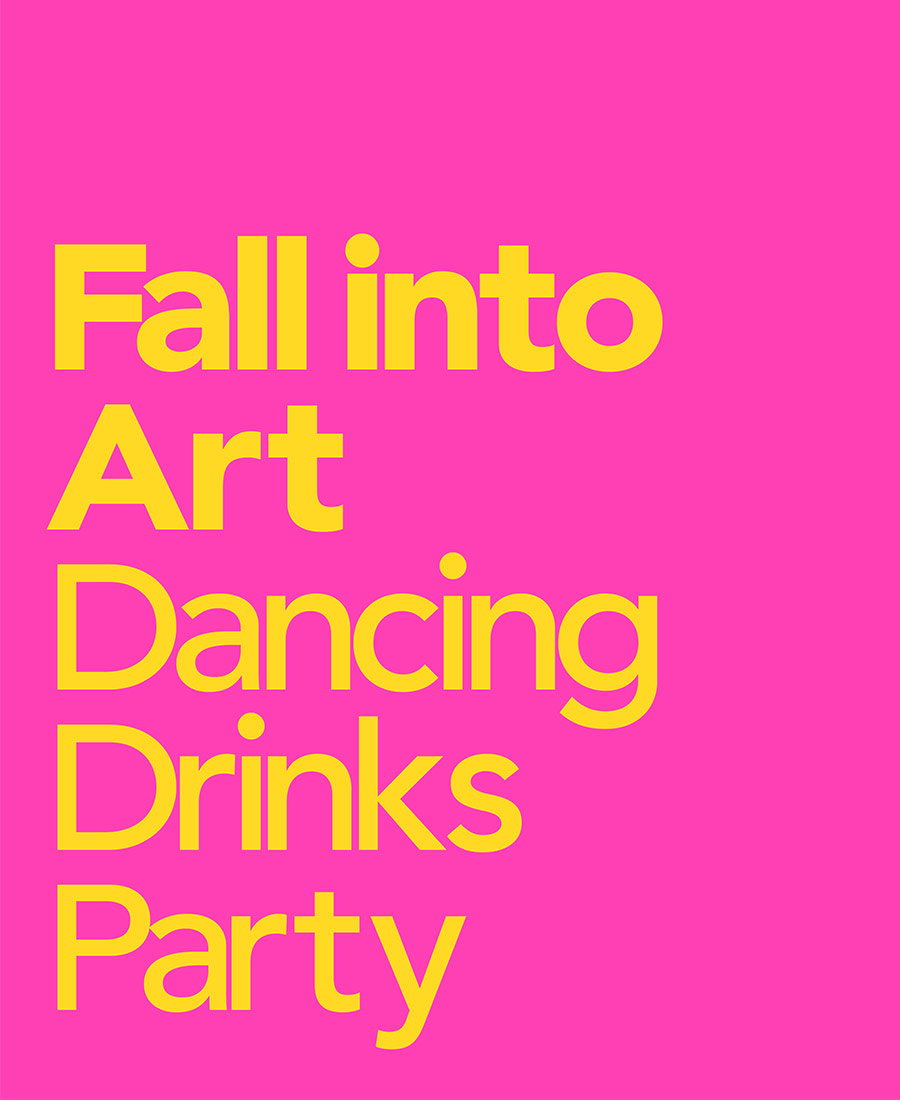 Fall Into Art Dancing Drink Pary