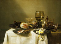 Still Life with a Ham and a Roemer