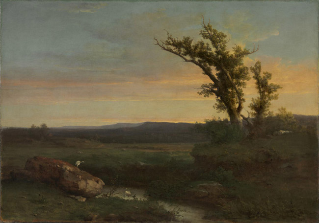 Twilight on the Campagna