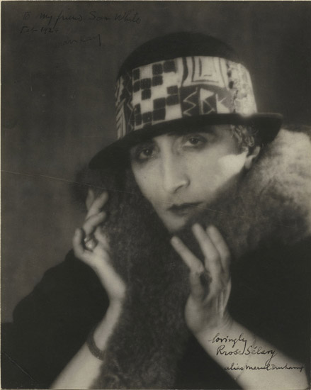 Marcel Duchamp as Rrose Sélavy