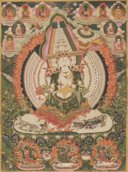 Ushnishasitatapattra, She Who Shelters with the White Parasol