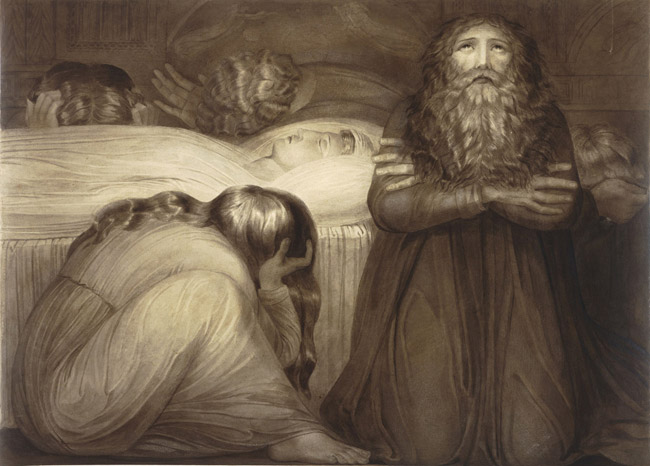 The Death of the Wife of the Biblical Prophet Ezekiel