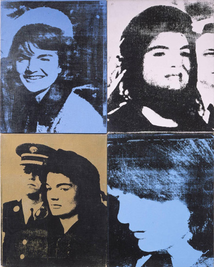 Jackie (Four Jackies) (Portraits of Mrs. Jacqueline Kennedy)