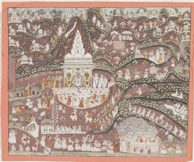 Pilgramage to a Jain Shrine