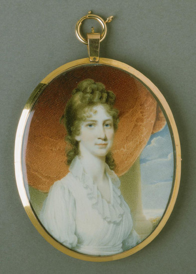 Portrait of Miss Henrietta Sprigg