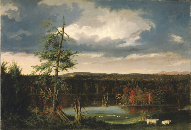 Landscape, the Seat of Mr. Featherstonhaugh in the Distance