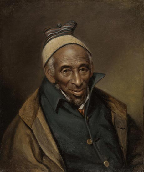 Portrait of Yarrow Mamout (Muhammad Yaro)