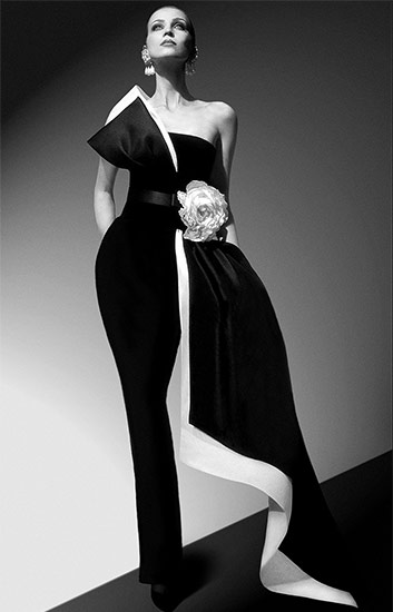 Dress, 1994, designed by Pierre Cardin © Archives Pierre Cardin