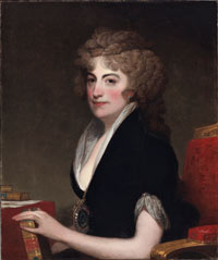 Image 01: Portrait of Anne Willing Bingham; Portrait of Anne Willing