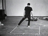 Image 06: Bruce Nauman, Dance or Exercise on the Perimeter of a Square (Square Dance)