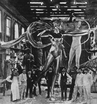 Image 04: Diana in the Mullins foundry