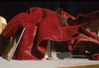 Image 14: Horse's Head: Wax-Felt Study Model