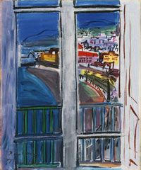 Image 02: Window on the Promenade des Anglais, Nice