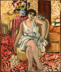 Image 06: Woman Seated in an Armchair