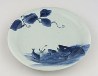 Image 02: Dish with Design of Fish