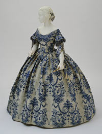 Image 01: Evening Dress: Bodice and Skirt
