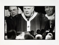 Image 05: Video Projection of Cardinal Law