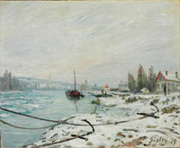 Image 03: Mooring Lines, the Effect of Snow at Saint-Cloud