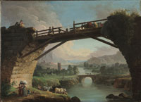 Image 05: Ruined Bridge with Figures Crossing