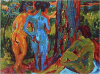 Image 06: Three Nudes in the Forest