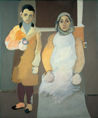 Image 04: The Artist and His Mother