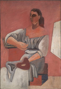 Image 05: Woman with Palette