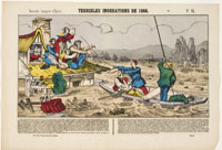 IMAGE 05: The Terrible Flooding of Loire River in the Lozère Region in 1866