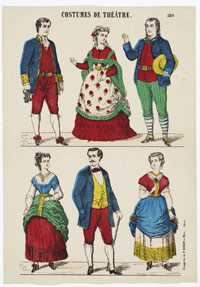 IMAGE 06: French Theater Costumes