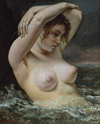 Image 02: The Woman in the Waves