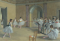 Image 03: The Dance Foyer at the Opera on the rue Le Peletier