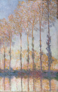 Image 08: Poplars on the Bank of the Epte River