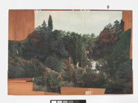 Image 13: Landscape collage on plywood
