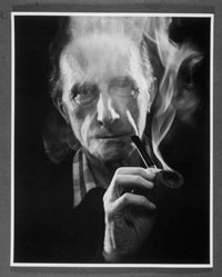 Image 03: Duchamp with Pipe