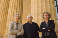 Image #3: Anne d'Harnoncourt, Frank Gehry, and Gail Harrity