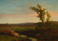 Image 01: Twilight on the Campagna