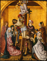 Image 02: The Descent from the Cross