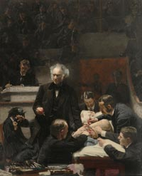 Image 01: Portrait of Dr. Samuel D. Gross (The Gross Clinic)