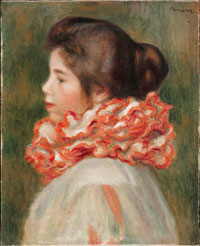 Image 01: Girl in a Red Ruff