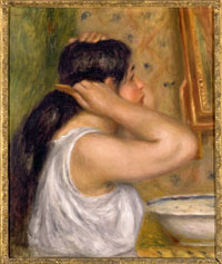 Image 04: The Coiffure (Woman Combing her Hair)