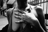 Image 01: Halter/Hand on Chest/Cheap Ring