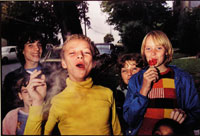 Image 11: Boy in Yellow Shirt Smoking