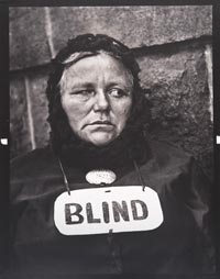 Image 02: Blind Woman