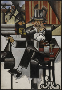 Image 12: Man in a Cafe