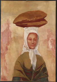 Image 03: Woman with Loaves