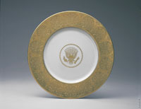 Image #5: Dwight D. Eisenhower Service Plate