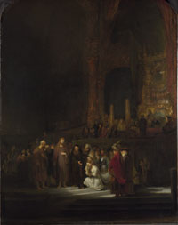 Image 01: Christ and the Woman Taken in Adultery